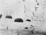 Allied Aircraft Drop Paratroopers into German Held Netherlands