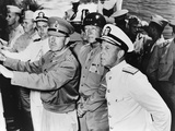 Allied Leaders Inspect the Sicilian Invasion Forces Off the Coast of North Africa