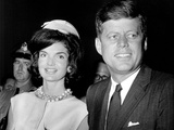 Jaqueline Kennedy  President John F Kennedy  Ca 1962