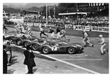 Drivers at the start of a race  England 1958