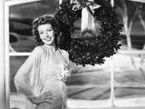 Loretta Young in Universal Studio Portrait Greets the Holiday Season