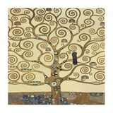 The Tree of Life II Reproduction d'art par Gustav Klimt