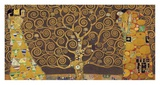 Tree of Life (Brown Variation) IV Reproduction d'art par Gustav Klimt