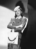 Joan Leslie with Handbag Designed by Ben R Brody