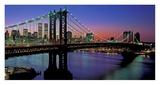 Manhattan Bridge and Skyline II