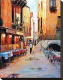 Street Café after Rain