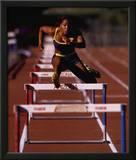 Goals: Runner Jumping Hurdles