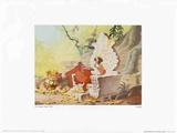 Walt Disney's The Jungle Book: The Secret of Man's Red Fire Reproduction d'art