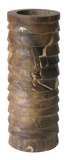 Marbled Terraced Wood Pillar Holder - Md