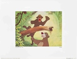 Walt Disney's The Jungle Book: Baloo Tugs Bagheera's Tail