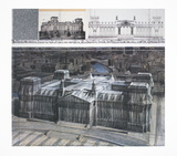 Wrapped Reichstag  Project for Berlin