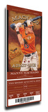 Manny Machado Artist Series Mega Ticket - Baltimore Orioles