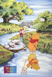 Winnie the Pooh and Piglet Fishing