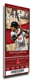 David Ortiz Artist Series Mega Ticket - Boston Red Sox