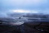 Smokes from the Geyser El Tatio  Atacama Desert  Chile and Bolivia