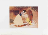 Walt Disney's Snow White and the Seven Dwarfs: Snow White Kisses Dopey