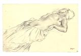 Lying Nude Crayon