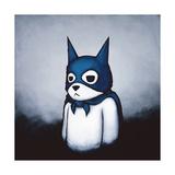 Bat Bear Giclée premium par Luke Chueh