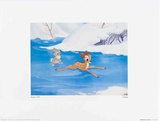 Walt Disney's Bambi: Bambi Tries to Skate