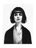 Mrs Mia Wallace Reproduction d'art par Ruben Ireland