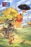 Winnie the Pooh and His Friends Reproduction d'art