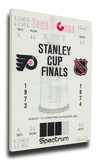 1974 NHL Stanley Cup Mega Ticket - Philadelphia Flyers