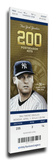 Derek Jeter Final Opening Day Mega Ticket - New York Yankees
