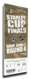 2007 NHL Stanley Cup Mega Ticket - Anaheim Ducks