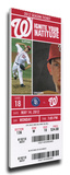 Bryce Harper First Home Run Mega Ticket - Washington Nationals