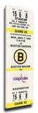 Cam Neely 50 Goals in 44 Games Mega Ticket - Boston Bruins