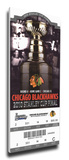 2010 NHL Stanley Cup Mega Ticket - Chicago Blackhawks