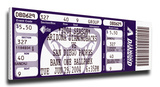 Randy Johnson 4 000 Strike Out Mega Ticket - Diamondbacks