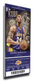 Kobe Bryant Artist Series Mega Ticket - Los Angeles Lakers (Farano)