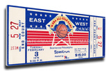 1976 NBA All-Star Game Mega Ticket  76ers Host - MVP Dave Bing  Bullets