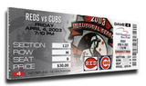 Sammy Sosa 500 Home Run Mega Ticket - Chicago Cubs