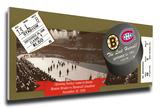 The Last Hurrah! Final Hockey Game at Boston Garden Mega Ticket - Bruins vs Canadiens