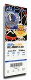 Dirk Nowitski 20 000 Point Game Mega Ticket - Dallas Mavericks
