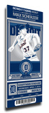 Max Scherzer Artist Series Mega Ticket - Detroit Tigers