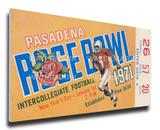 1971 Rose Bowl Mega Ticket - Stanford Indians