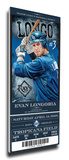 Evan Longoria Artist Series Mega Ticket - Tampa Bay Rays