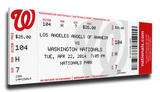 Albert Pujols 500 Home Run Mega Ticket - Los Angeles Angels
