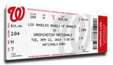 Albert Pujols 500 Home Run Mega Ticket - Los Angeles Angels