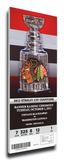 Chicago Blackhawks 2013 Stanley Cup Champions Banner Raising Mega Ticket