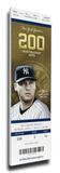 Derek Jeter Final Opening Day Mega Ticket - New York Yankees