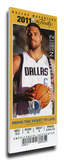 2011 NBA Finals Mega Ticket - Game 4  Chandler - Dallas Mavericks
