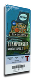2012 Final Four Mega Ticket - Kentucky Wildcats