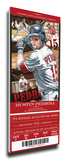 Dustin Pedroia Artist Series Mega Ticket - Boston Red Sox