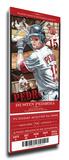 Dustin Pedroia Artist Series Mega Ticket - Boston Red Sox