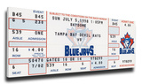 Roger Clemens 3000 Strike Outs Mega Ticket - Toronto Blue Jays
