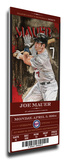Joe Mauer Artist Series Mega Ticket - Minnesota Twins